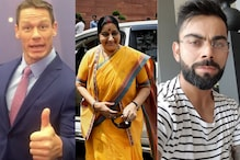 From John Cena To Sushma Swaraj, Here's How Our Beloved Stars Wished Us Happy Diwali