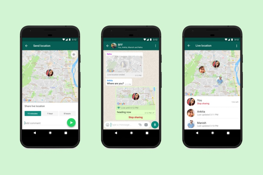 Whatsapp Live Location Launched All You Need To Know Where i'm living at the moment i really appreciate the convenience. whatsapp live location launched all
