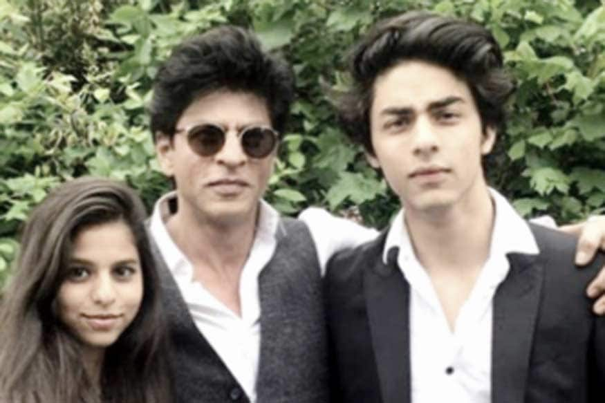Show me the picture of shahrukh khan son