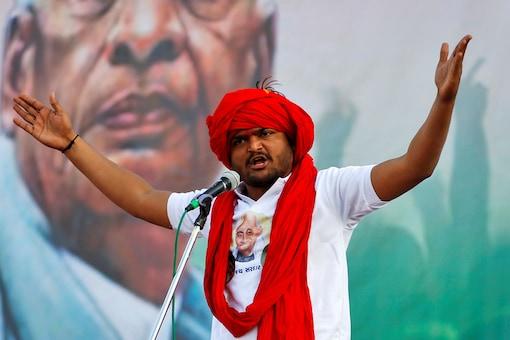 File photo of Patidar leader Hardik Patel.