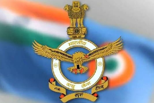 The official logo of Indian Air Force.
