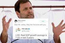 Rahul Gandhi Goes Full Filmy, Uses Star Wars Pun To Attack Modi Government