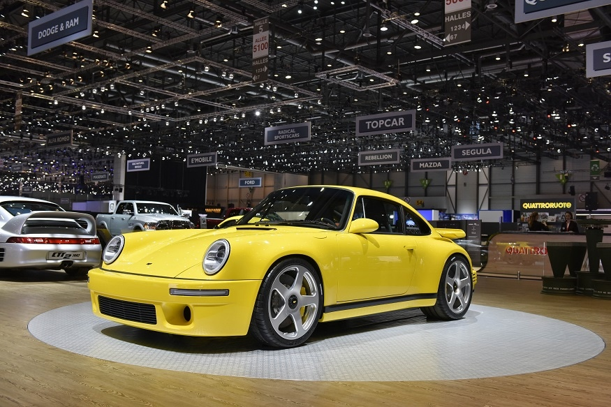 The Ruf 2017 CTR debuted at the 2017 Geneva Motor Show. (Image: AFP Relaxnews)
