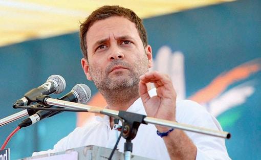 File photo of Congress vice-president Rahul Gandhi. (PTI)