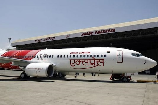 File photo of air india express. Image: Reuters
