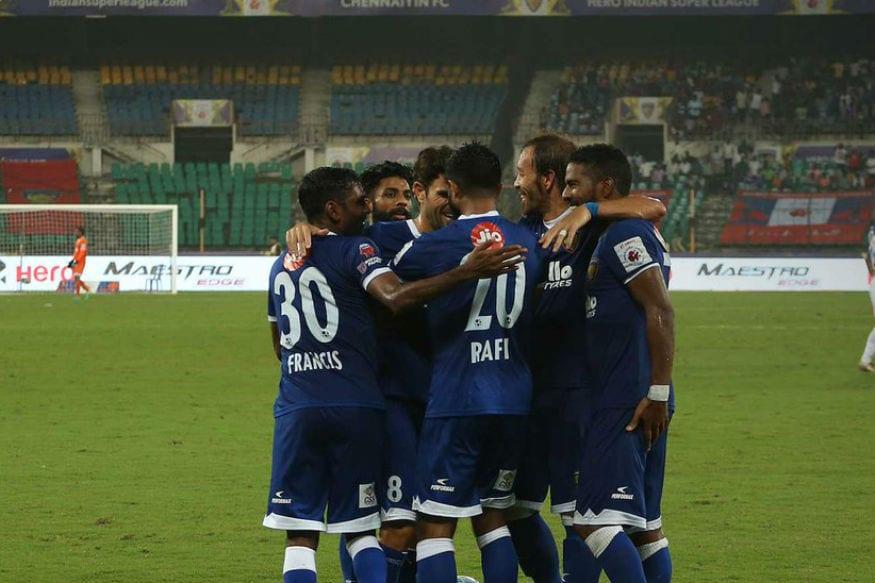 5646a4475b8 ISL 2017  Chennaiyin FC Beat NorthEast United 3-0