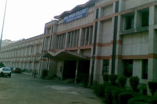 File photo of Delhi University's Dyal Singh College.