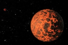Exoplanet With Lava on Surface, Diamonds in The Interiors And an Earth-Like Atmosphere