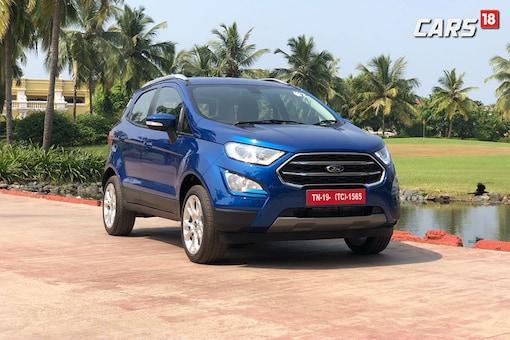 The new Ford EcoSport. (Photo: Siddharth Sharma/News18.com)