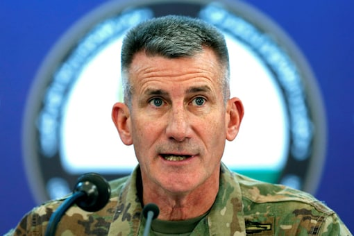 File photo of US Army General John Nicholson, commander of Resolute Support forces and U.S. forces in Afghanistan (REUTERS)
