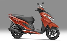 Honda Grazia 125cc Scooter Launched in India at Rs 57,897