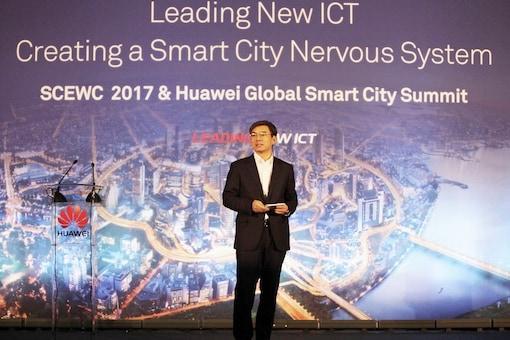 Huawei Enterprise BG President Yan Lida. (Image: Huawei)