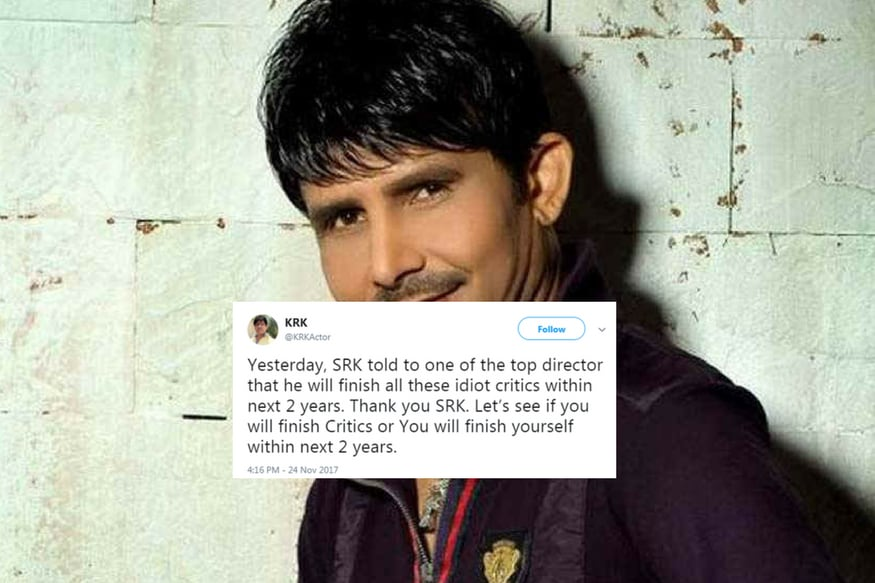 Bad News Kamaal R Khan Is Back On Twitter And This Time With A Vengeance Krk leaks shivaay online & challenges ajay devgn on twitter. kamaal r khan is back on twitter and