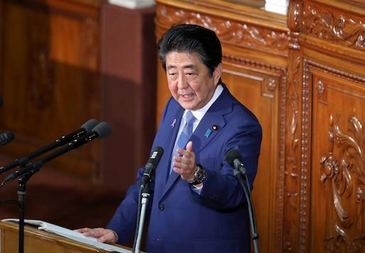 File photo of Japanese Prime Minister Shinzo Abe. (AP)