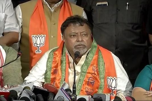 File photo of BJP leader Mukul Roy.