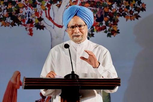 File photo of former prime minister Manmohan Singh. (PTI)