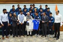 I Saw Spark in All of You: PM Modi Tells India U-17 Football Stars