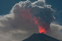Volcano Erupts in Indonesia's Bali, Flights Cancelled