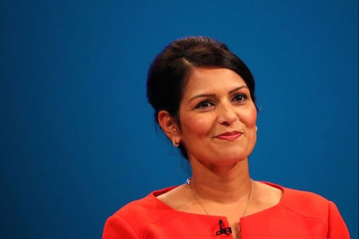 File photo of UK Cabinet Minister Priti Patel.