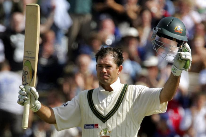 Australian captain Ricky Ponting acknowledges the crowd's applause after achieving a century against England and salvaging a draw for his team at Old Trafford cricket ground in Manchester 15 August, 2005. The Series remains drawn at 1-1and resumes at Trent Bridge in Nottingham on 25th August. AFP PHOTO/ALESSANDRO ABBONIZIO / AFP PHOTO / ALESSANDRO ABBONIZIO