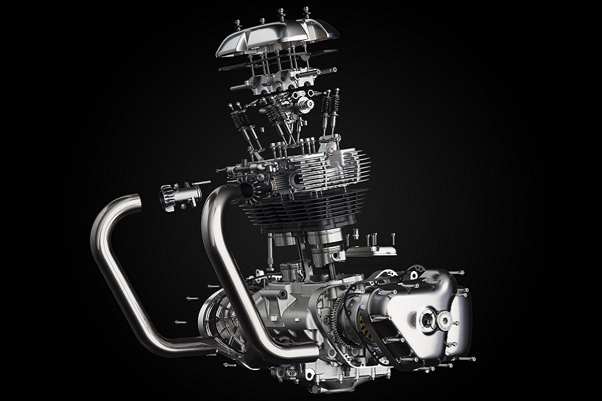 Royal Enfield 648cc Twin Engine. (Image: Royal Enfield)
