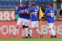 Sampdoria Score Thrice in Second Half to Stun Italian Champions Juventus 3-2