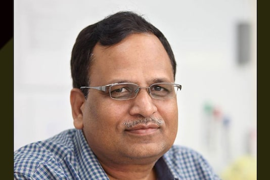 File photo of Delhi health minister Satyendar Jain.  (Image courtesy: AAP Satyendar Jain/Facebook)