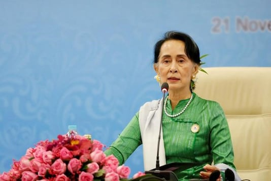 File photo of  Aung San Suu Kyi. (Image: Reuters)