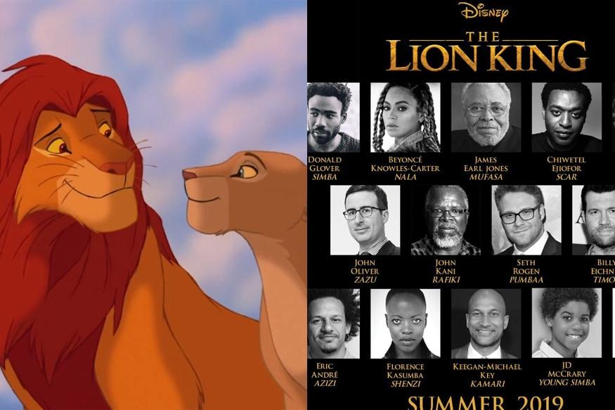 The Lion King Live Action Cast Announced Beyonce Donald