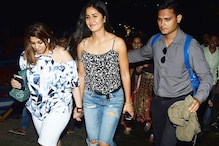 Katrina Kaif Returns From Shah Rukh Khan's Birthday Party