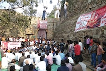 Padmavati Protest: Effigies of Stars Hung at Chittorgarh Fort