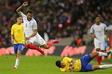 Young England Stifle Neymar's Brazil to Goalless Draw