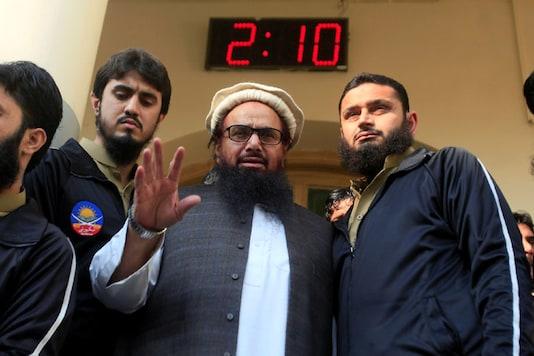 File photo of 26/11 attacks mastermind Hafiz Saeed. (Reuters)