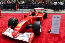 Michael Schumacher's 2001 Ferrari Auctioned at Sotheby's For $7.5 Million, Sets Record
