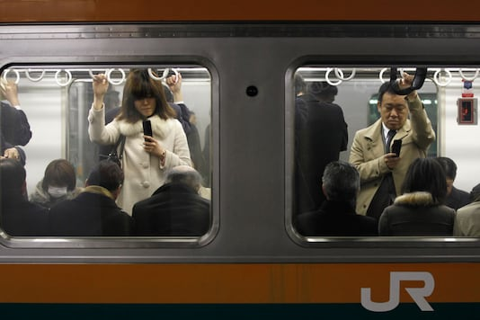 Tokyo Metro And Two Telecom Companies Tests App For Pregnant Women to Find Seats (Representative image/REUTERS)