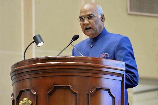 File photo of President Ram Nath Kovind. (PTI)