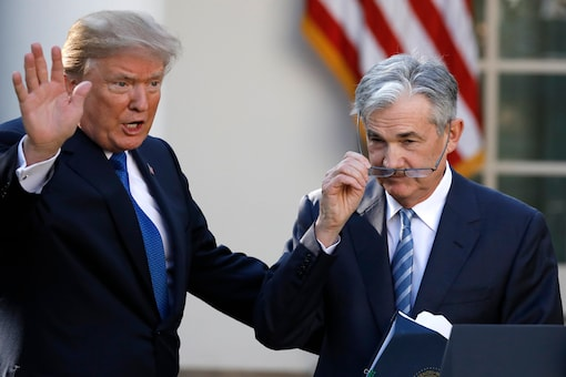 US President Donald Trump gestures with Jerome Powell, his nominee to become chairman of the US Federal Reserve at the White House in Washington, US, November 2, 2017. (Photo: REUTERS/Carlos Barria)