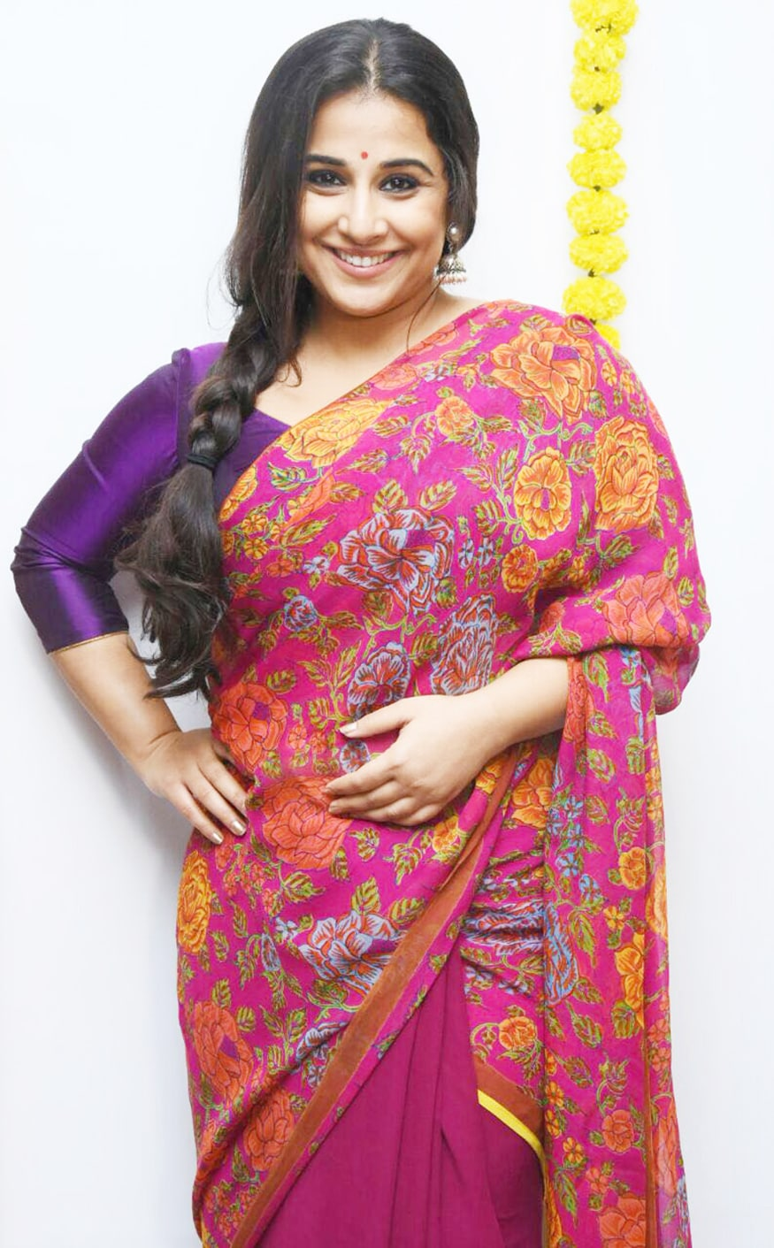 Vidya Balan at Tumhari Sulu success party