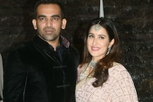 Zaheer-Sagarika Look Picture Perfect In These Post-Wedding Party Photos