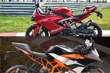 TVS Apache RR 310 Vs KTM RC 390: Specs, Price, Features and Which One is a Better Sports Bike?