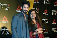 Fit To Fight Awards 2017: Shahid Kapoor Bonds with Mom Neelima