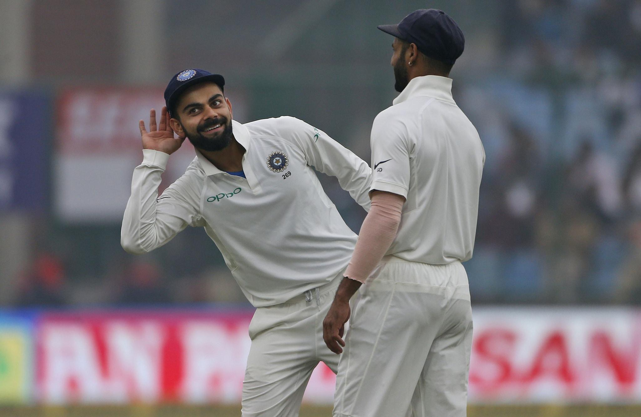 In Pics, India vs Sri Lanka, 3rd Test, Day 4