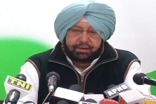 File photo of Punjab Chief Minister Captain Amarinder Singh.