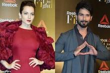 Shahid Kapoor Thanks Kangana Ranaut for Supporting Padmavati