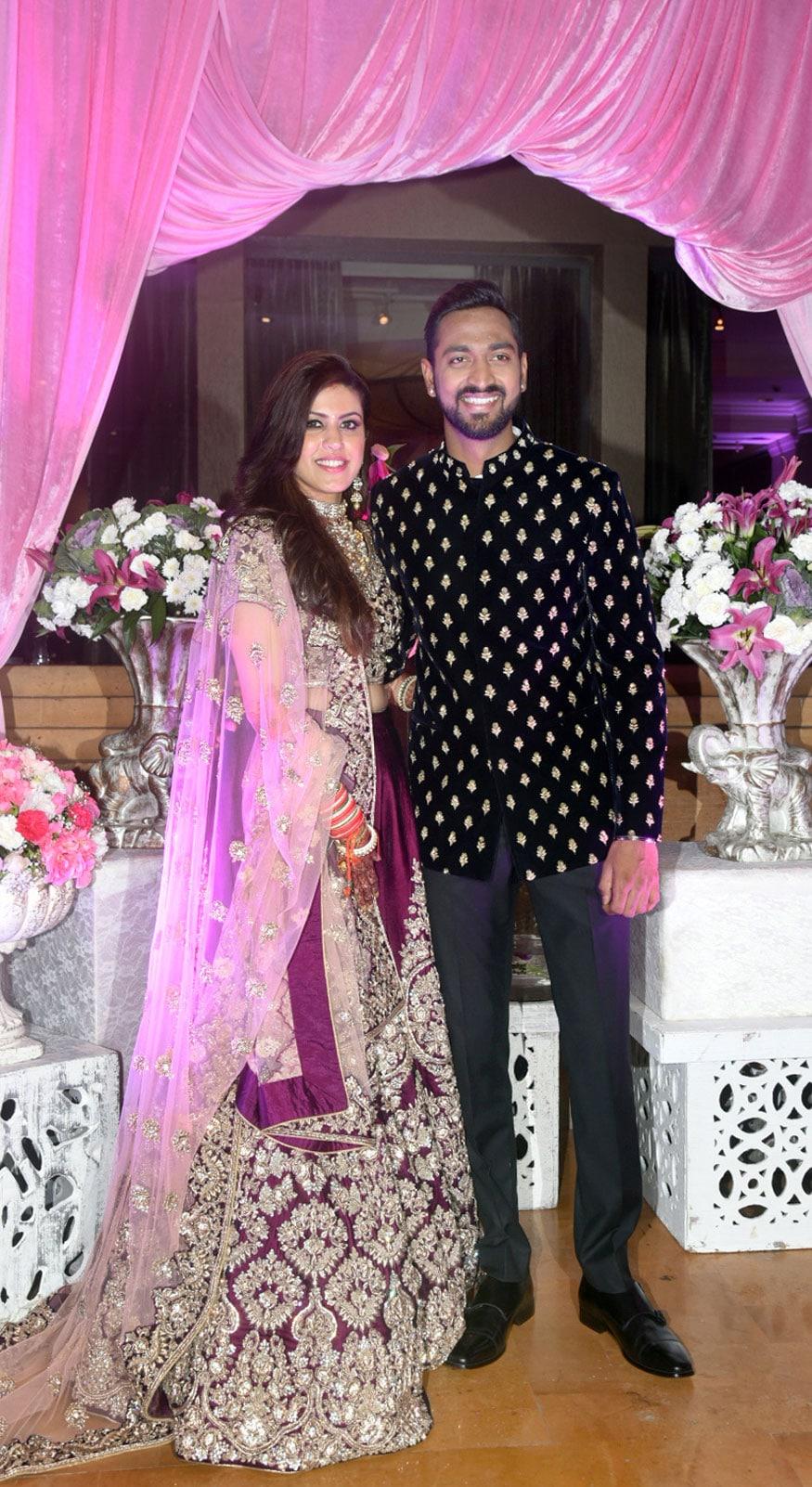 Celebs at Cricketer Krunal Pandya's Wedding Reception