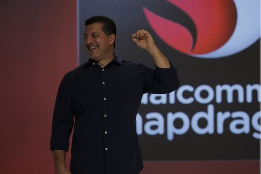 Alex Katouzian, SVP and general manager of mobile for Qualcomm Technologies, unveils Snapdragon 845, the world's newest flagship mobile platform.