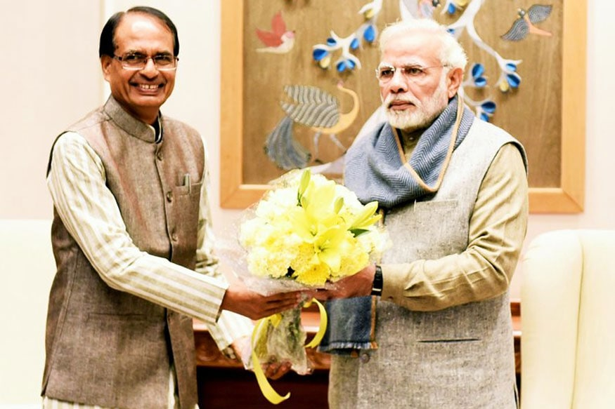 PM Modi, Madhya Pradesh CMs Photos to be Displayed in Houses Built Under Govt