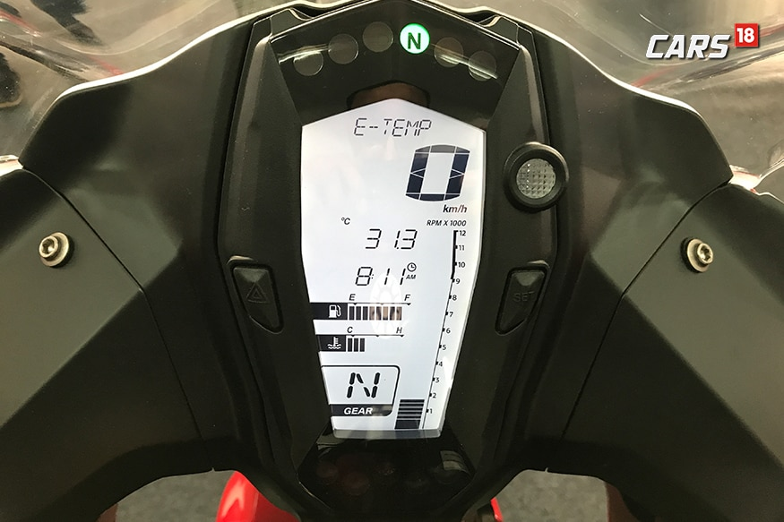 TVS-Apache-RR-310-Review-Instrument-Cluster