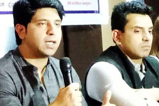 File photo of Shehzad Poonawalla and Tehseen Poonawalla. (Image: Tehseen Poonawalla/Facebook)
