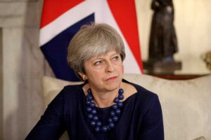 File photo of Britain's Prime Minister Theresa May. (Reuters)